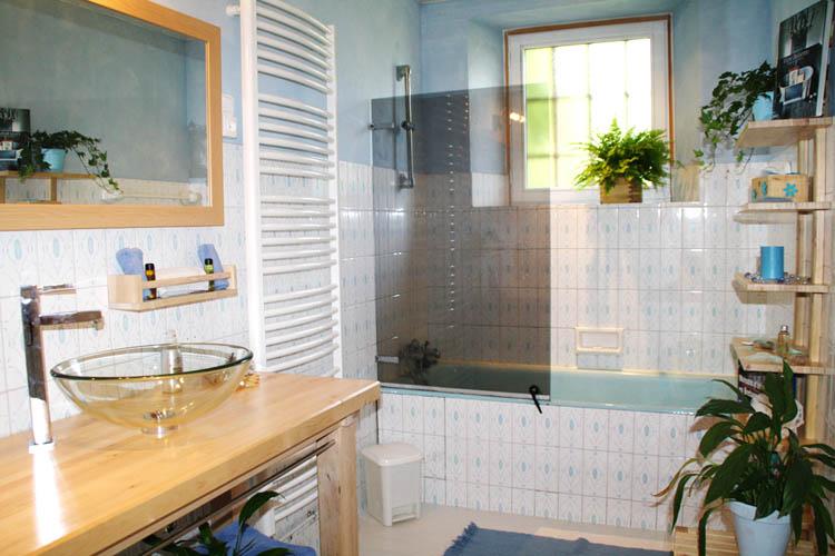 Le Manoir de l\'Alleu - Chambre d\'hôtes - Salle de bain